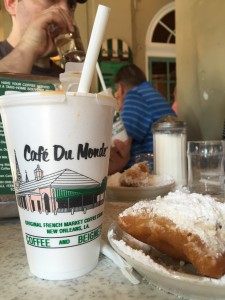 Cafe Du Monde break...YUM!