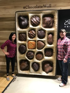 Ethel M. Chocolate Factory's Chocolate Wall