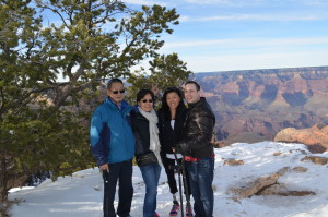 Group pic at Grand Canyon