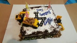 Ian's Construction Cake