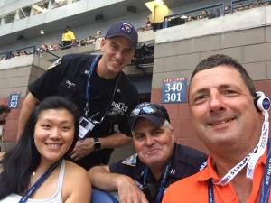 Teena Tim Bobby Wade US Open 2016